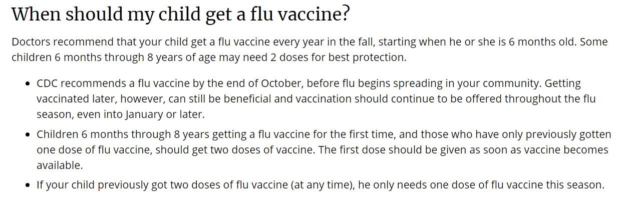 アメリカ インフルエンザ 2020